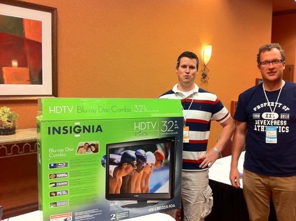 Matt Hagewood Wins DevExpress HDC HDTV