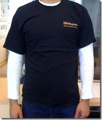 DevExpress TShirt TechEd Front