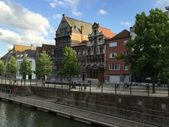 Canalside in Mechelen