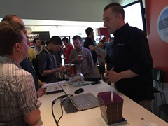 Don demoing at the DevExpress booth