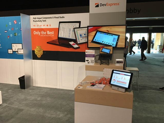 DevExpress booth at Bulid 2017