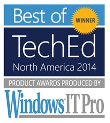 Best of TechEd 2014 Winner