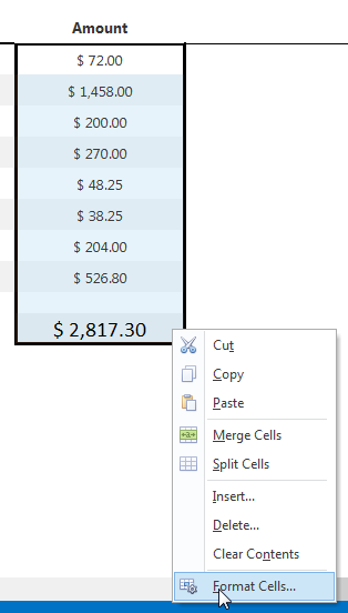 Formatting Cells in VCL