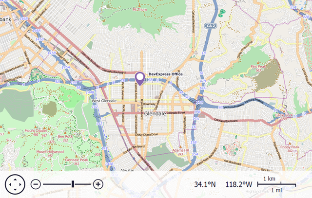 VCL Map Control 14.1: Using OpenStreetMaps as provider