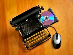 Modern Old Typewriter