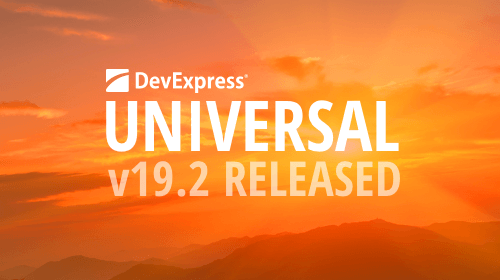 DevExpress Universal v19.2 released