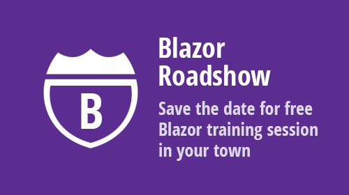 Blazor Roadshow: All remaining US stops have been postponed