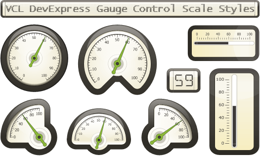 VCL Gauge Control: Eco Style v15.1
