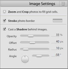 Adobe Photoshop Image Settings