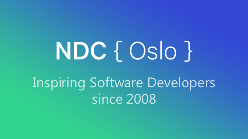 We're at NDC Oslo this week