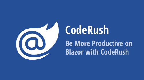 Be more productive on Blazor with CodeRush
