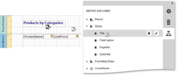 Report Explorer - Apply a Style