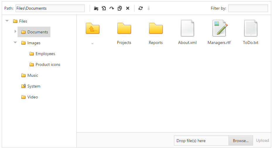 ASP NET File Manager - Enhancements (Shipping in v15 1)
