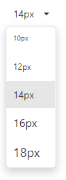 DevExtreme DropDownButton - Custom Templates