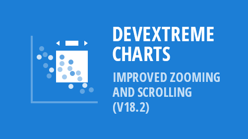 DevExtreme Charts - Improved Zooming and Scrolling (v18.2)