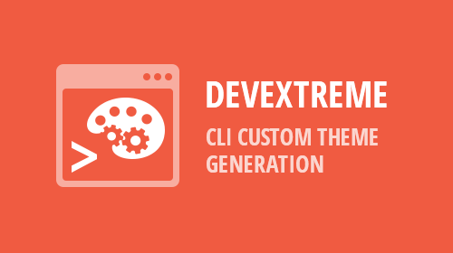DevExtreme CLI - Custom Theme Generation (v18.2)