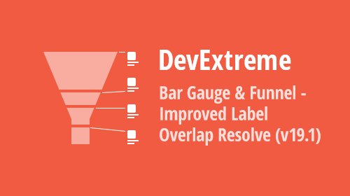 JavaScript Charts - BarGauge & Funnel: Improved Label Positioning (v19.1)