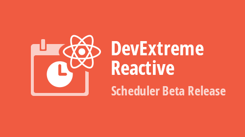 DevExtreme React Scheduler - Beta Release