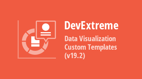 DevExtreme Data Visualization - Custom Templates (v19.2)