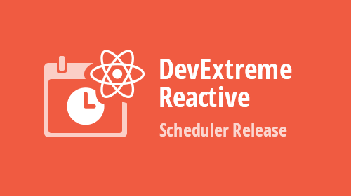 DevExtreme React Scheduler Released