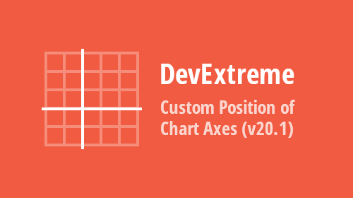 DevExtreme Charts – Custom Axes Position (v20.1)