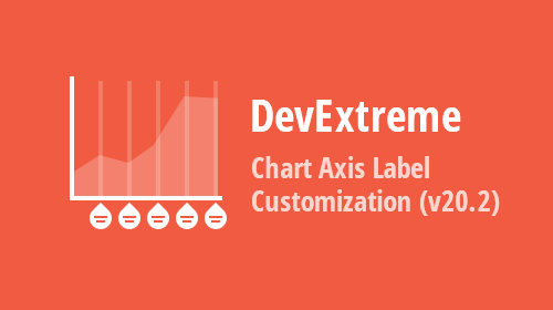 DevExtreme Charts - Axis Label Customization (v20.2)