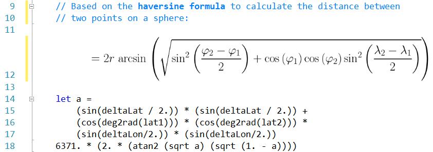 Haversine Formula