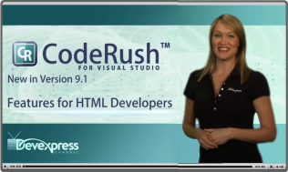 CodeRush Features for ASP.net Development