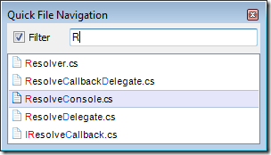 Quick File Navigation-R