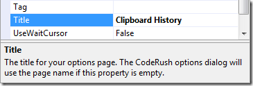 ChangeTitleToClipboardHistory