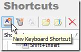NewKeyboardShortcut