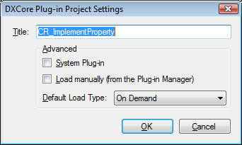 PluginProjectSettings