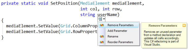 RemoveParameters