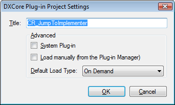DXCorePluginProjectSettings