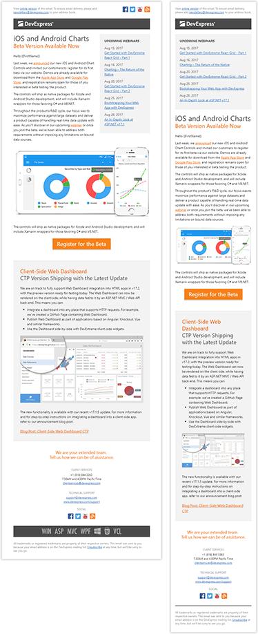Newsletter Design: Responsive HTML Email