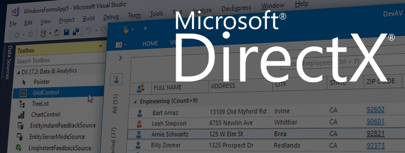 DirectX Rendering in WinForms Controls: An Update