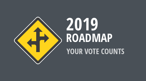 DevExpress 2019 Roadmap - Your Vote Counts