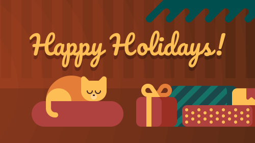 Happy Holidays from DevExpress - Free Greetings Card Tool