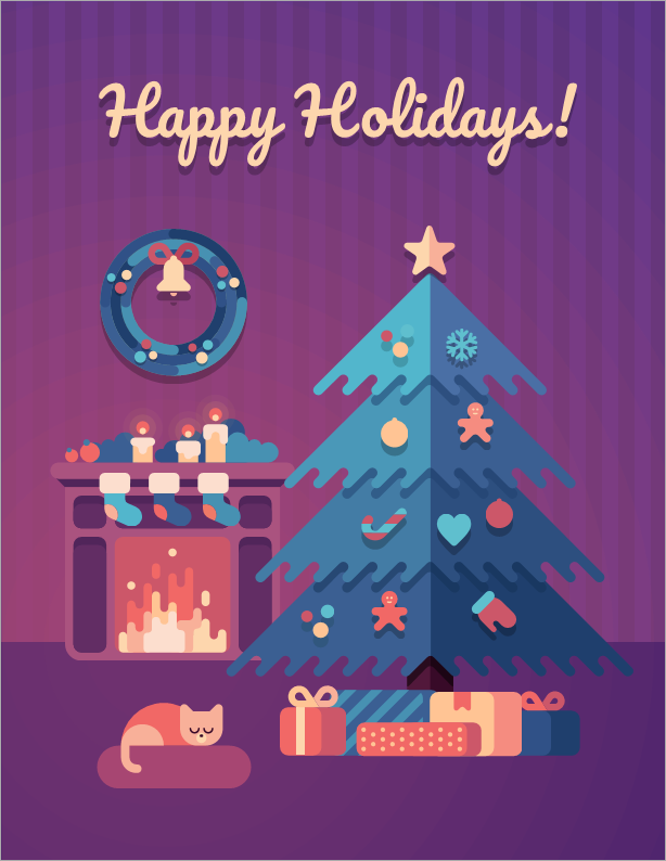 Happy holidays and Happy 2021 from the DevExpress Team