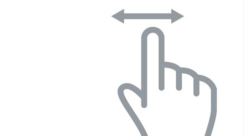 DevExpress ASP.NET TabControl, PageControl - Tab Swipe (v18.1)