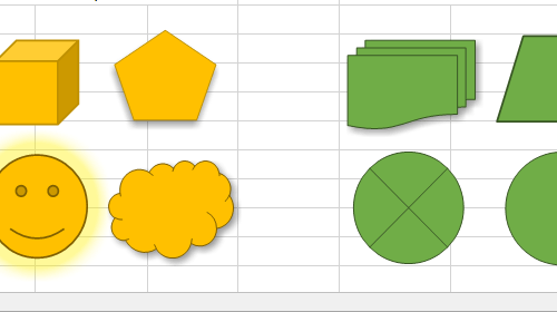 Spreadsheet - Shapes and Usability Enhancements (v18.1)