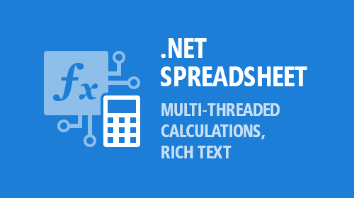 .NET Spreadsheet — Multi-Threaded Calculations, Rich Text Support, and More (v19.1)