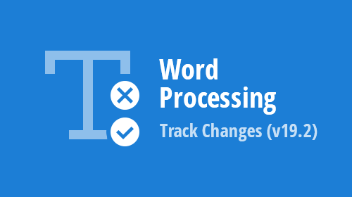 Word Processing (WinForms, WPF, Office File API) – Track Changes (v19.2)