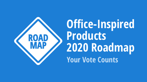 Office File API and Office-Inspired Desktop UI Controls Roadmap 2020 – Your Vote Counts