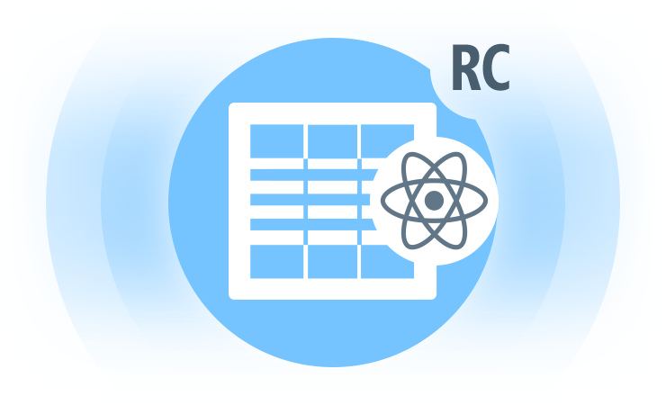 React Data Grid RC