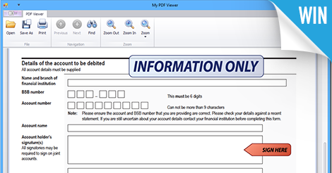 PDF Control: Interactive Forms and Annotations (Coming soon in v14 2)