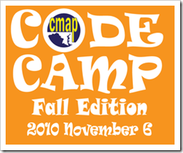 CMAP Code Camp 2010