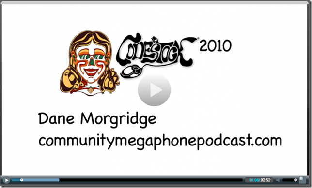 CodeStock 2010 Dane Morgridge on CommunityMegaphonePodcast.Com