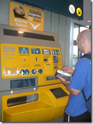 Ticket machines in Sweden