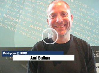 Aral Balkan: Making the New Everyday Things